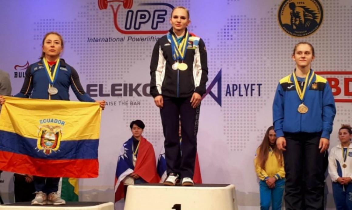 Спортсменка из Ульяновска установила рекорд на Чемпионате мира по пауэрлифтингу