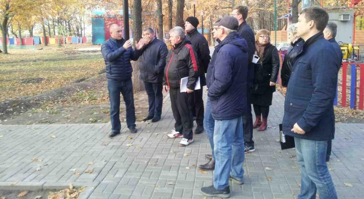 В парк «Прибрежный» инвестируется 60 миллионов рублей