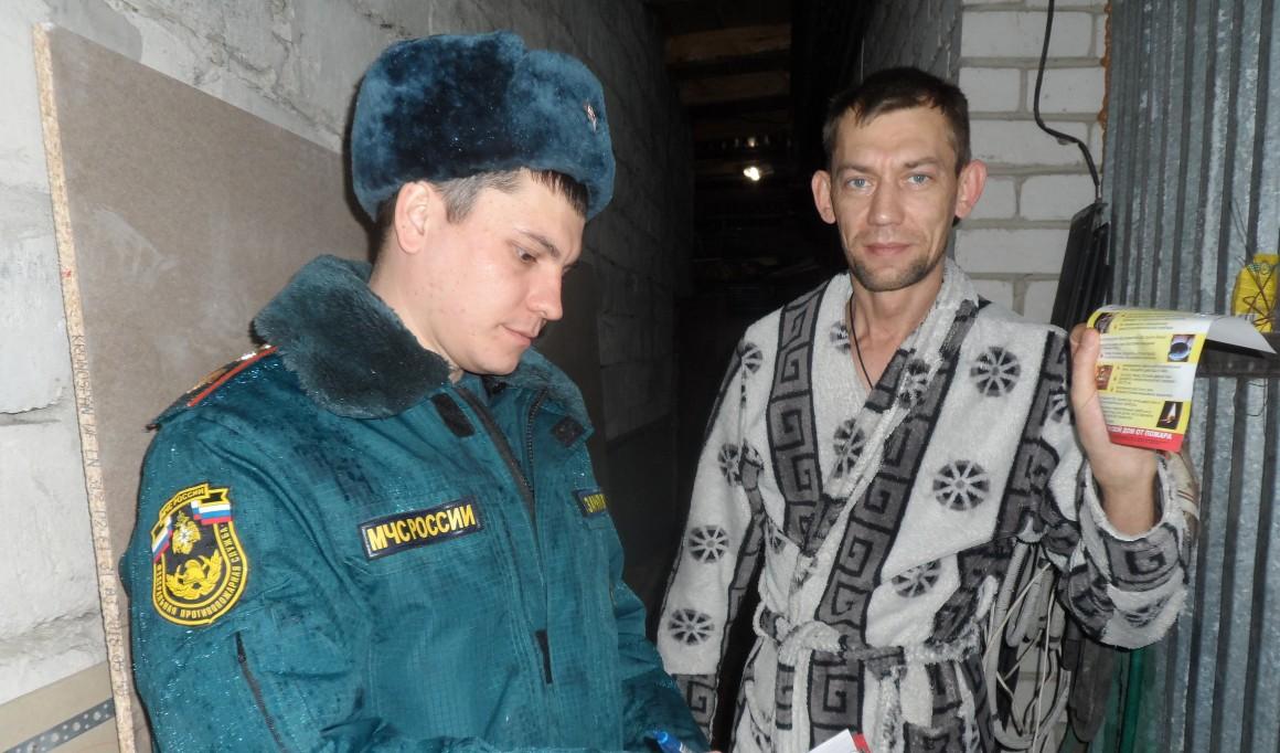 Противопожарные рейды проходят в Ульяновске