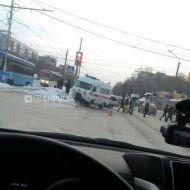 ДТП с участием Скорой помощи. Три человека пострадали