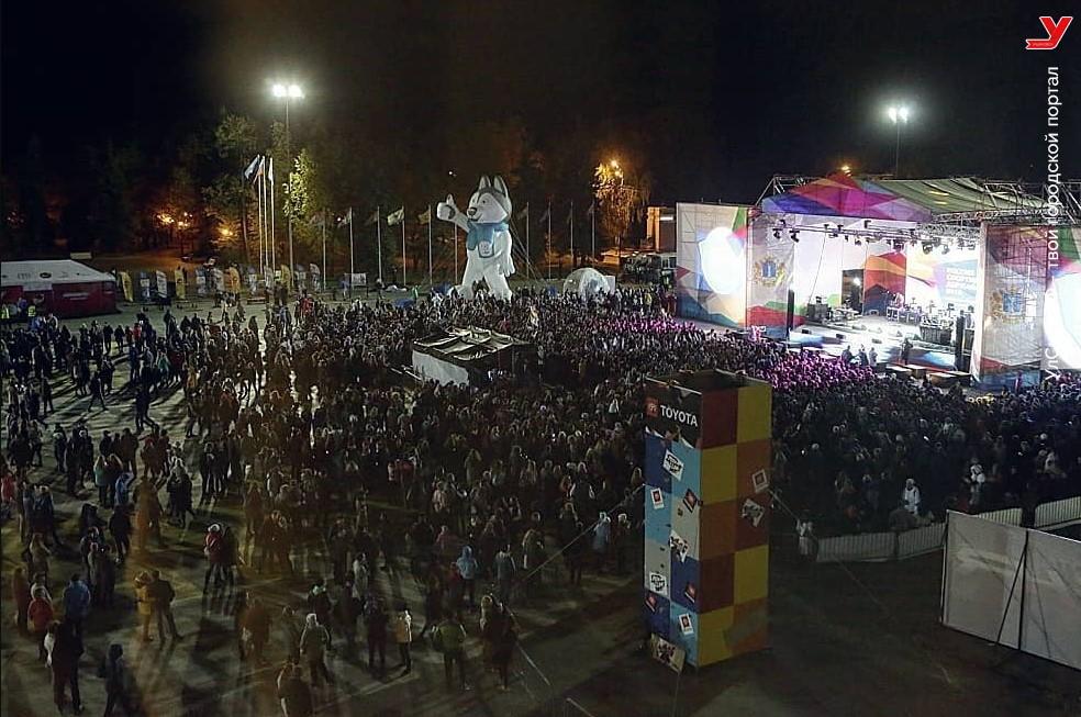 Жители Ульяновска остались недовольны концертом Тимати на Соборной