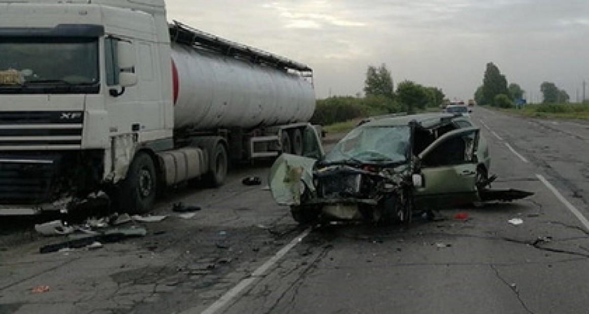 Трое полицейских разбились в аварии под Ульяновском