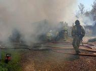 За минувшие сутки в Ульяновске произошло 12 пожаров