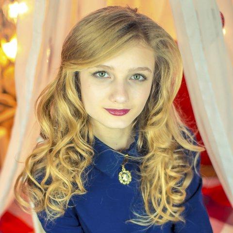 Милохова Анна 14 лет. Голосование за Юную Мисс Ульяновск
