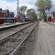В выходные на улице Тимирязева заменят кривой участок трамвайного пути