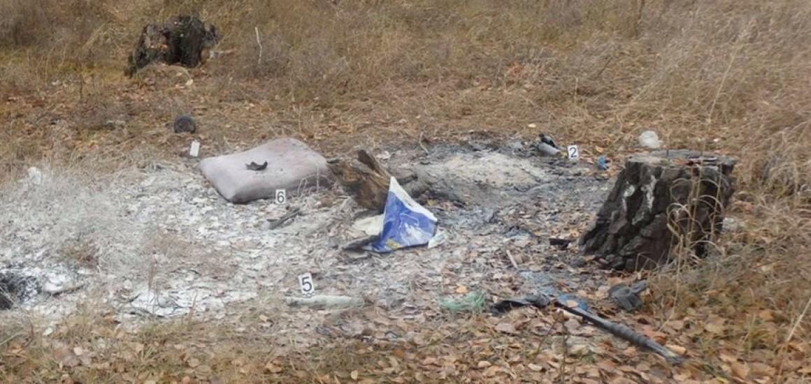 Обгоревший труп найден в Ульяновске в Заволжском районе