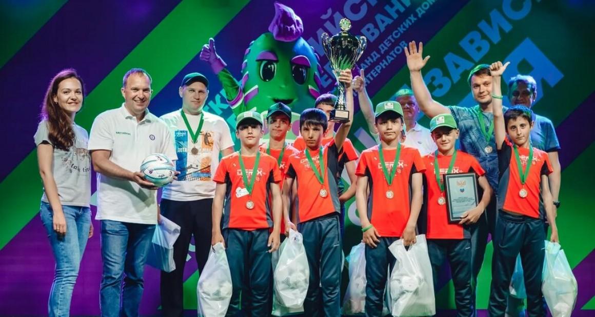 Чемпионы всероссийских соревнований «Будущее зависит от тебя» готовятся к встрече с тренерами