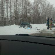 Сильное ДТП произошло на трассе  Димитровград-Ульяновск