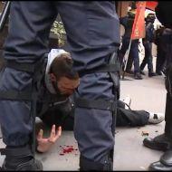 Протестующие громят центр столицы. Цены на бензин довели народ до кипения