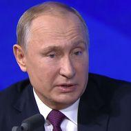 Путин о Медведе на пресс-конференции сказал два слова
