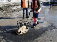 В Ульяновске ведется ремонт дорог холодным асфальтом