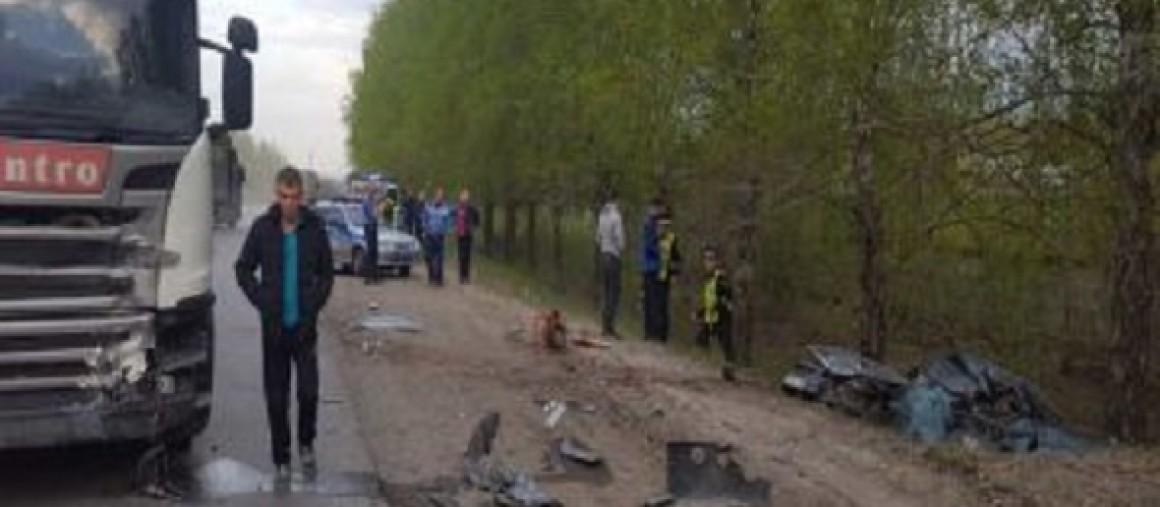 Тройное ДТП произошло на трассе в Ульяновской области