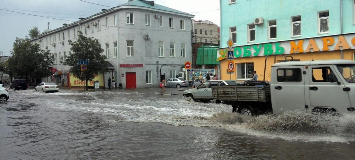 Коммунальщики прочистили ливневки. Ульяновск станет меньше затапливать?