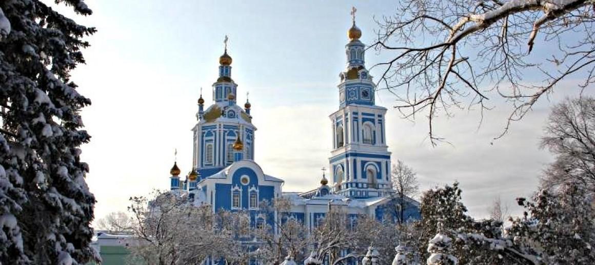 Православные жители Ульяновска отметили Рождество Христово