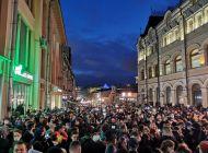 Более 14 000 человек вышли вчера на несанкционированные акции