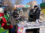 В Заволжском районе Ульяновска прошел рейд по несанкционированной уличной торговле