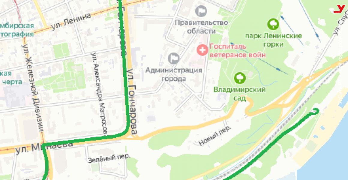 С 1 июня в Ульяновске заработает пляжный маршрут №92С