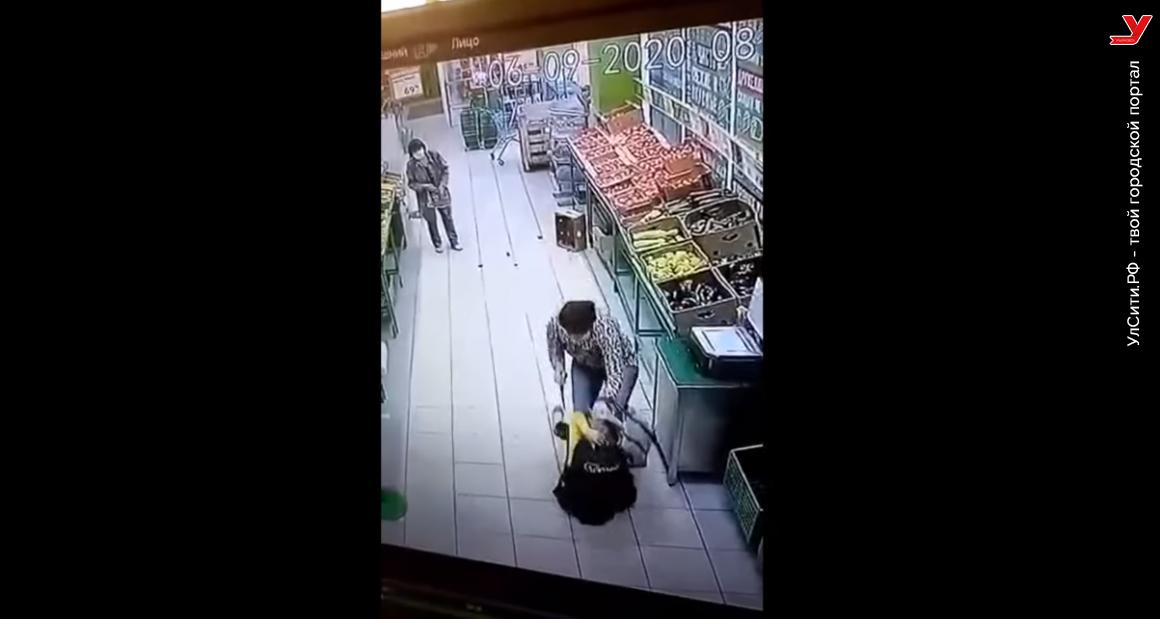 Экс-жена Долгановского напала на продавца в Гулливере. Власти готовы помочь (видео)