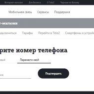 Tele2 нарастила интернет-продажи