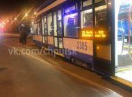В Ульяновске новый трамвай сошел с рельсов при повороте