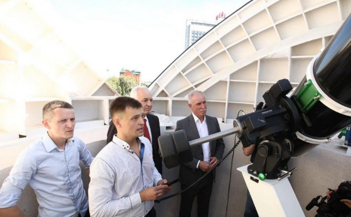 В гимназии №1 Ульяновска открылась обсерватория
