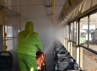 Ульяновские трамваи начали по-новому обрабатывать от вирусов