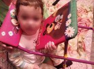 Двухлетняя жительница Ульяновска застряла в раскладном стульчике
