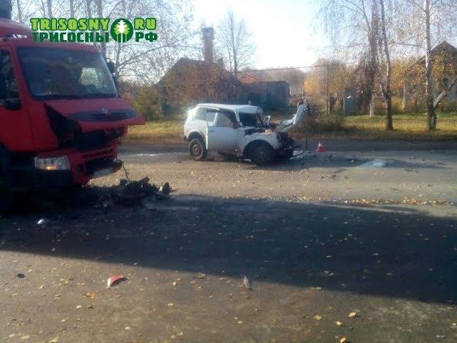 Смертельная авария в Ульяновской области. Погиб водитель