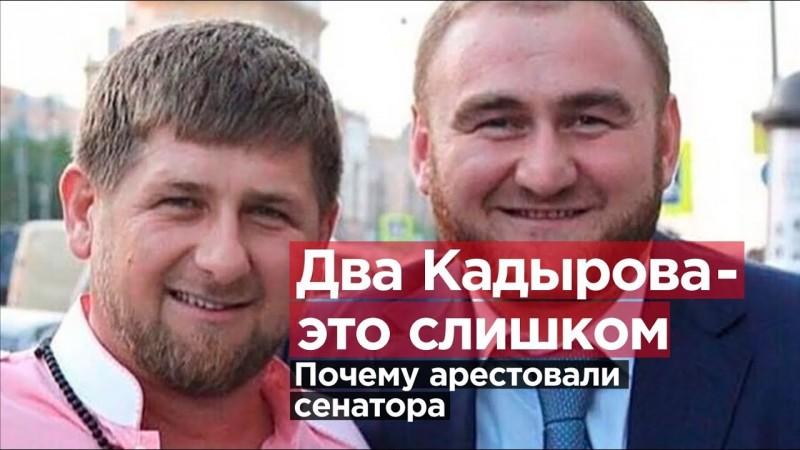 За что арестовали сенатора Рауфа  АРАШУКОВа? Два Кадырова - это слишком.