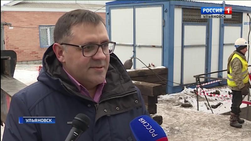 ГТРК Ульяновск Замена водопровода превратилась в уникальную операцию новости сегодня