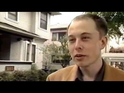 Интервью молодого ИЛОНА МАСКА | Илон Маск в 1999 году, русская озвучка
