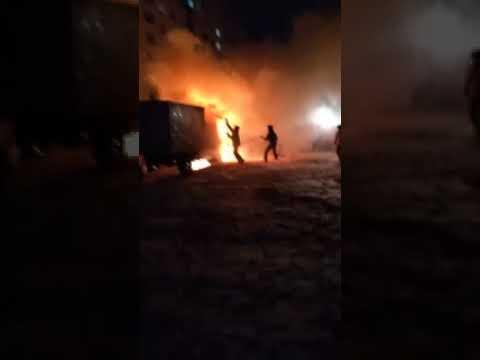 chpulsk Грузовая Газель сгорла в Ульяновске Ульяновск происшествия сегодня