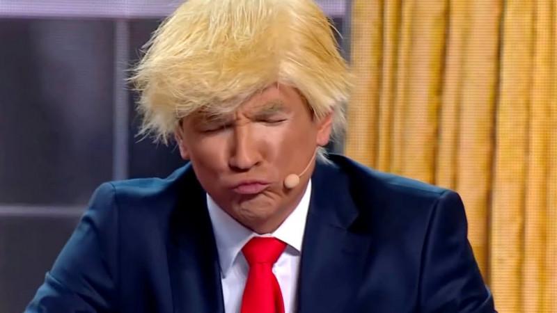 Трамп и Байден - Уральские Пельмени - Дело пахнет мандарином (2021)
