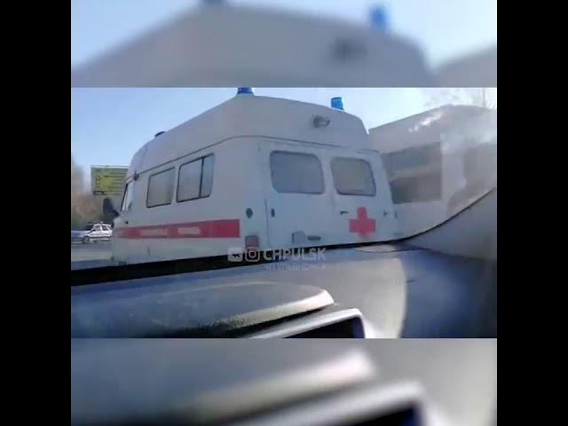 chpulsk ДТП в Ульяновске столкнулись микроавтобус и самосвал Ульяновск происшествия сегодня