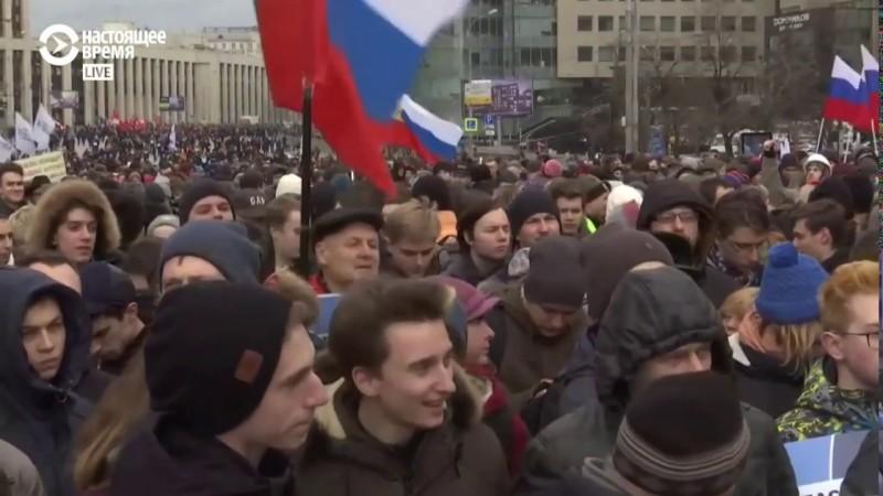 Митинг за свободу интернета в России