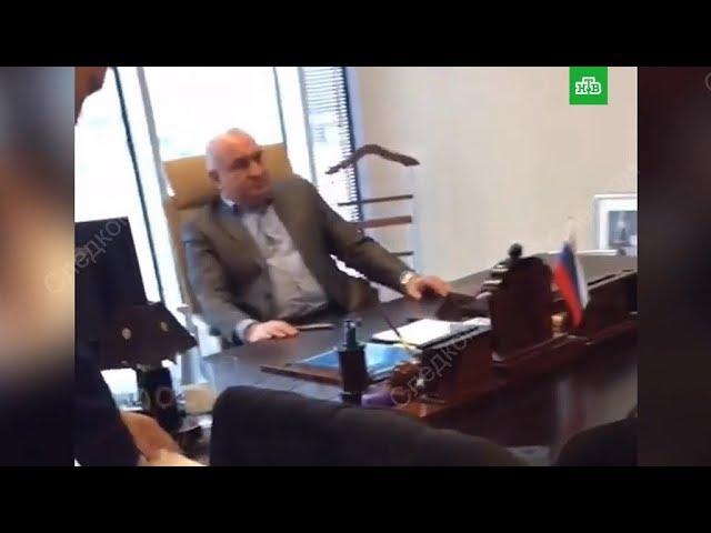 Задержание отца сенатора Арашукова/ Видео с задержания