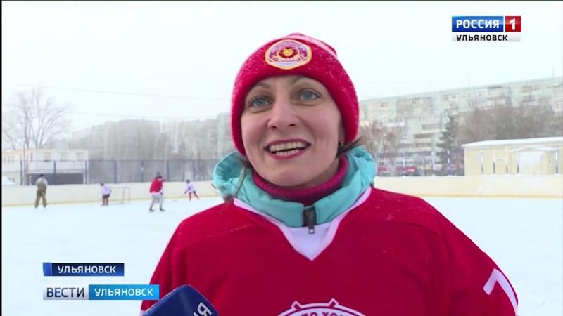 ГТРК Ульяновск Необычный хоккейный матч новости сегодня