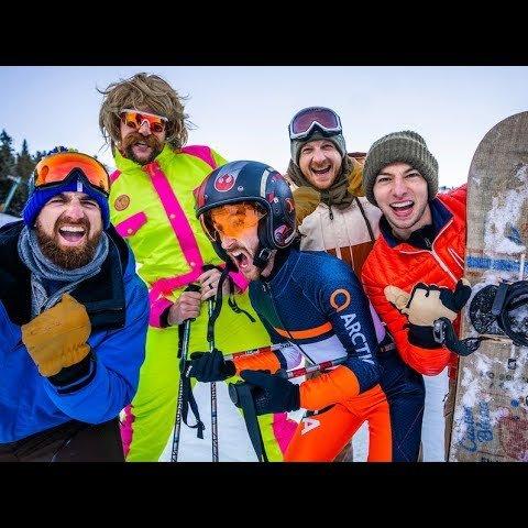 Skiing Stereotypes | Dude Perfect смотреть онлайн в хорошем качестве