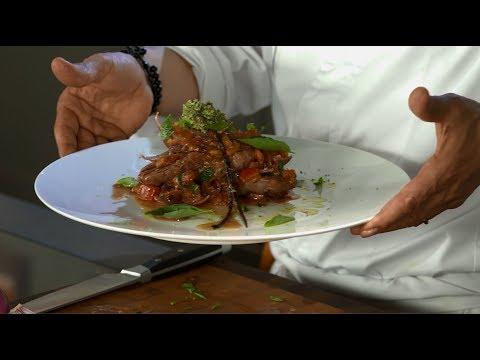 Кулинария: Рецепт говяжьей вырезки на гриле G801 и воке G600 от Бруно Марино