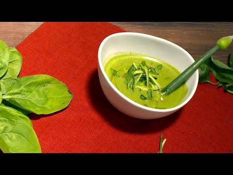 Кулинария: Рецепт крем-супа из цукини и базилика в мультиварке и блендере от Бруно Марино