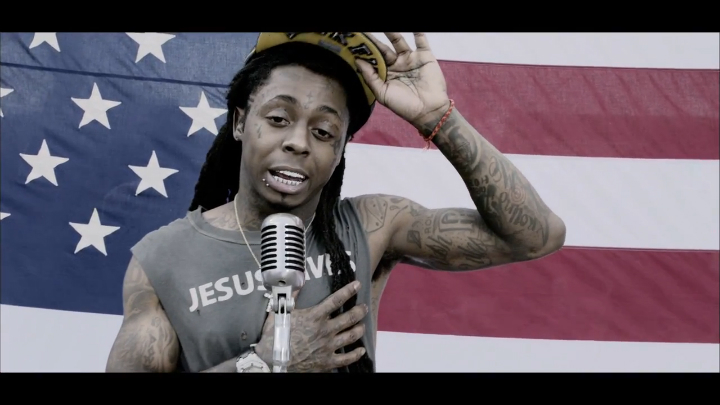 Клипы: Lil Wayne - God Bless Amerika