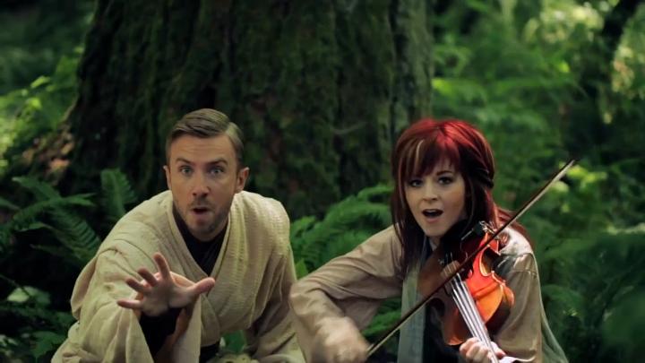 Видеоклип: Lindsey Stirling & Peter Hollens - Звездные войны