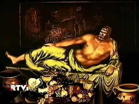 Мультфильм Геракл у Адмета. Древнегреческие легенды.
