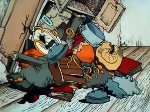 Мультфильм Остров сокровищ 1. Карта капитана Флинта.