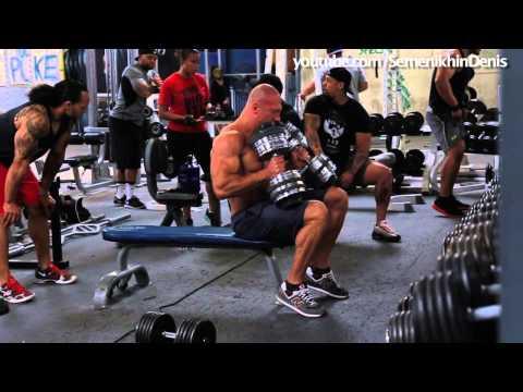 Мастер-класс: Убили грудные.  Тренировка с Mike Rashid #2