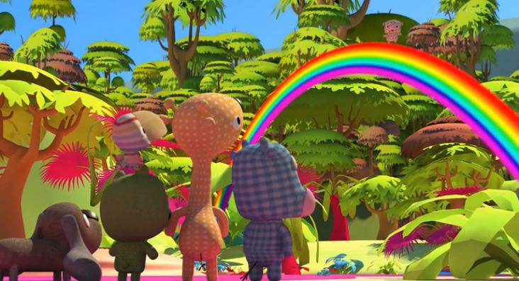 Трейлер к фильму Любимчики в Поисках Радуги/ La Tropa de Trapo en la selva del arcoiris (2014) Русск