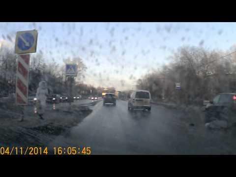 ДТП. Сбили старушку 04.11.2014 Ульяновск