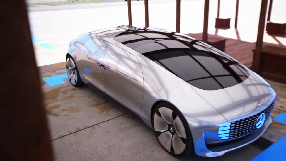 #Mercedes будущего