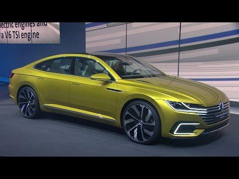 VW Sport Coupé Concept GTE - VW Studie in Genf 2015