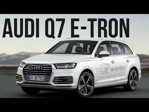 2016 Audi Q7 e-tron quattro Interior, Exterior and Drive